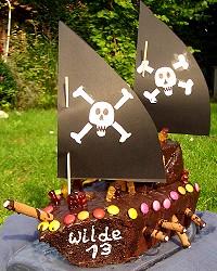 Piratenkuchen Kindergarten Ideen